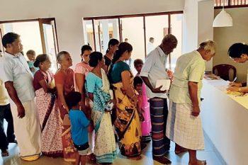 Patients registering