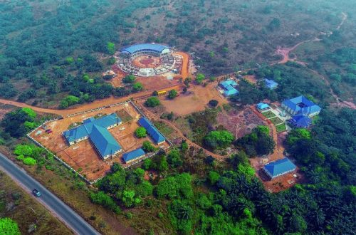 Nigeria hospital and ashram
